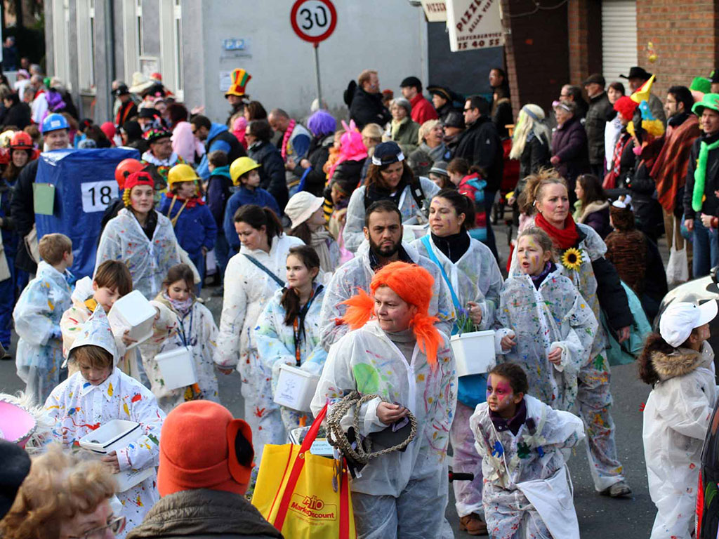 Kinderkarneval in Ratingen-Lintorf